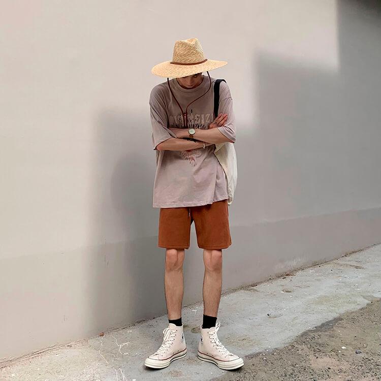 Шорты Attitude Studio Cotton Shorts Universal Tones (7)