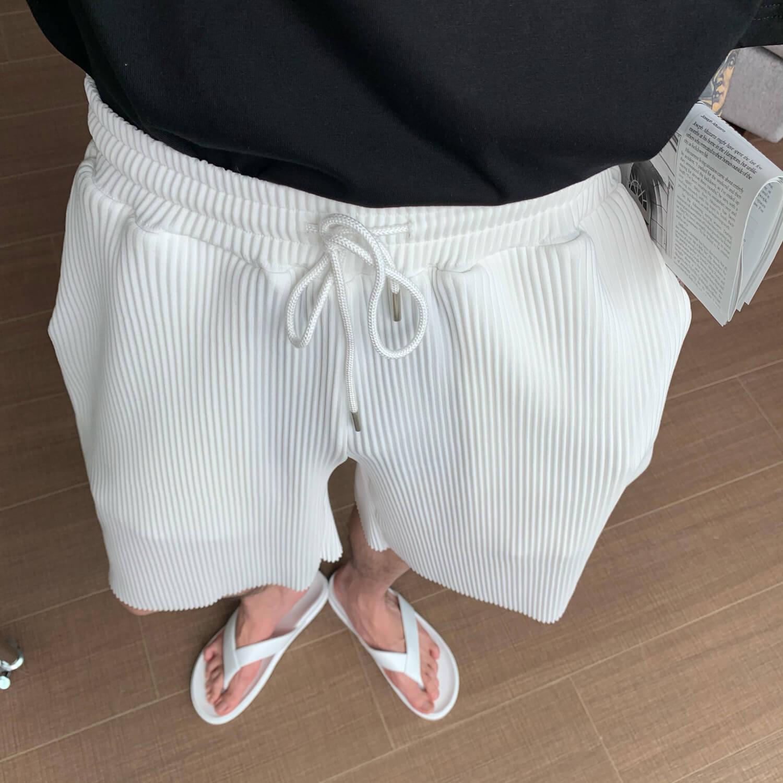 Шорты Cui Layout Studio Minimalist Vertical Striped Shorts (9)