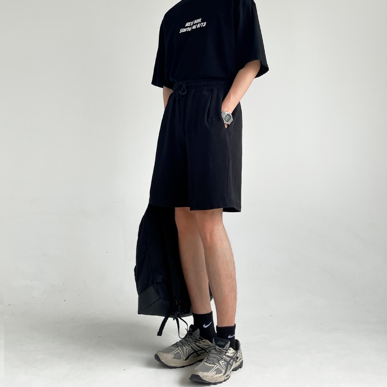 Шорты GB Studio Fabric Elastic Waist Shorts (2)