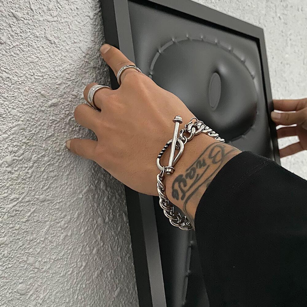 Браслет SAZ Studio Bracing Clasp Bracelet (1)