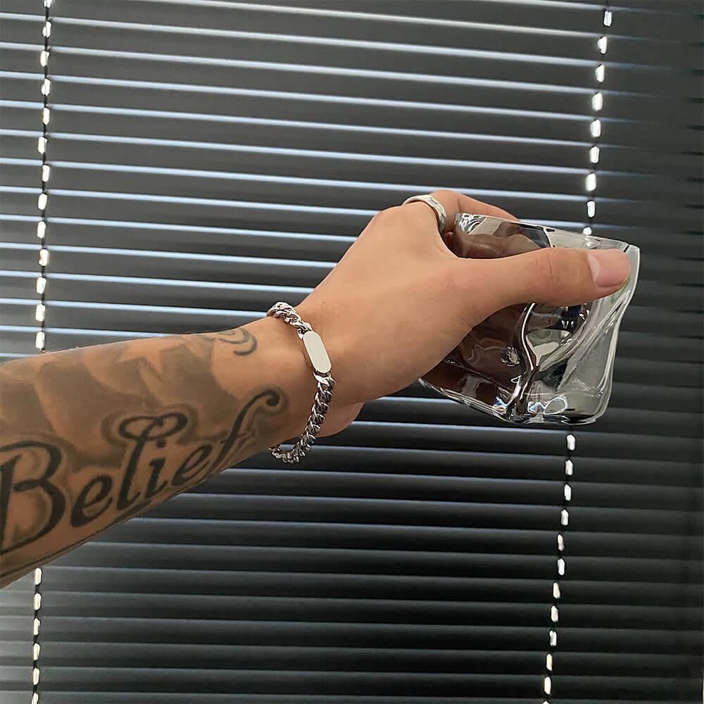 Браслет SAZ Studio Metal Plate Bracelet (1)