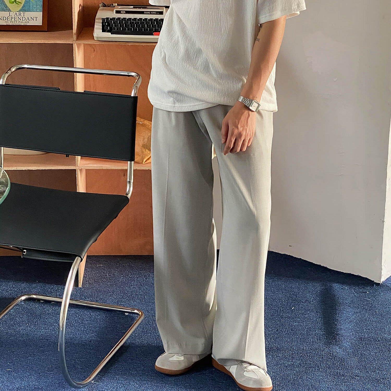 Брюки 19 Studio Double Belt Cloth Pants (1)