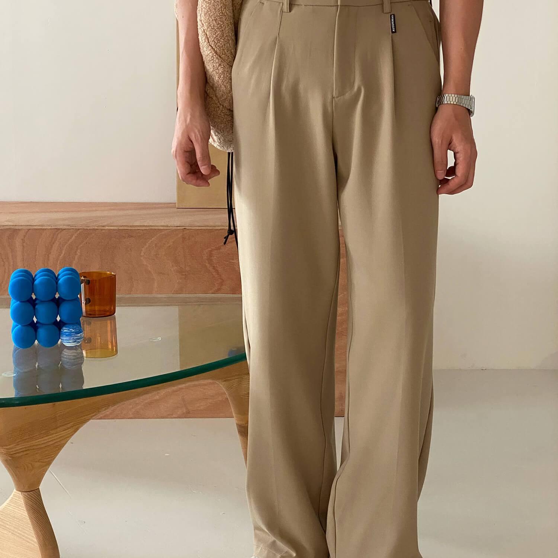Брюки 19 Studio Formal Straight Pants (2)
