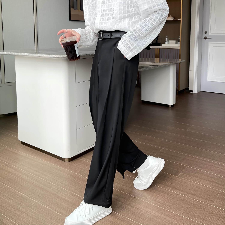 Брюки Cui Layout Studio Draped Crumple Trousers (1)