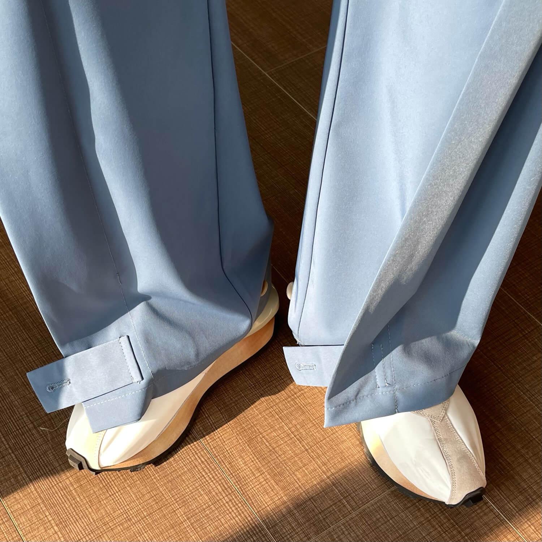 Брюки Cui Layout Studio Draped Crumple Trousers (10)
