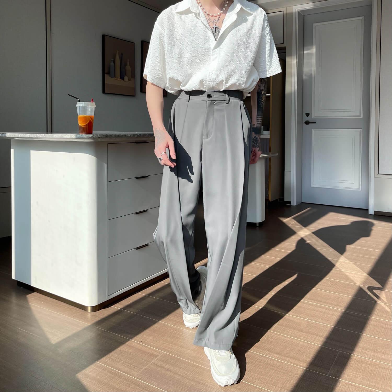 Брюки Cui Layout Studio Draped Crumple Trousers (11)