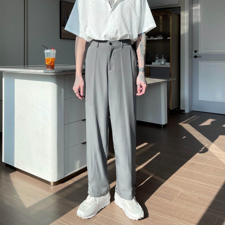 Брюки Cui Layout Studio Draped Crumple Trousers (12)