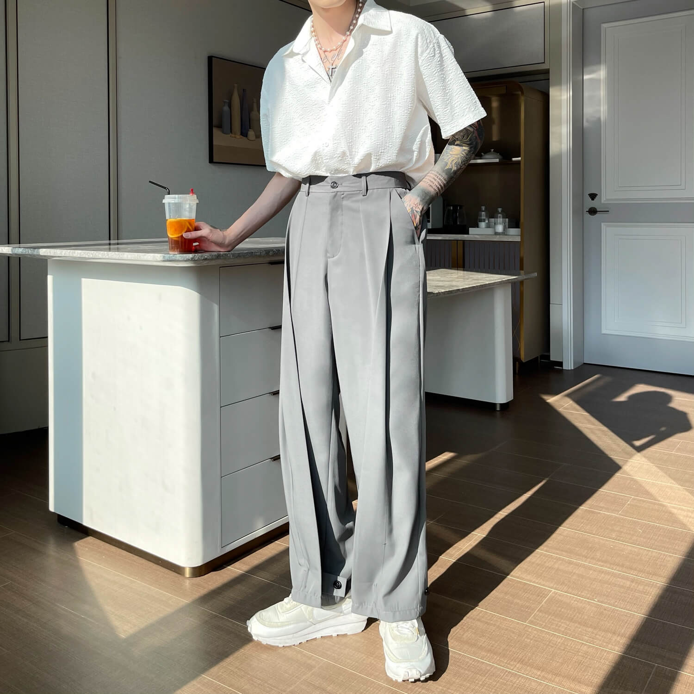 Брюки Cui Layout Studio Draped Crumple Trousers (13)