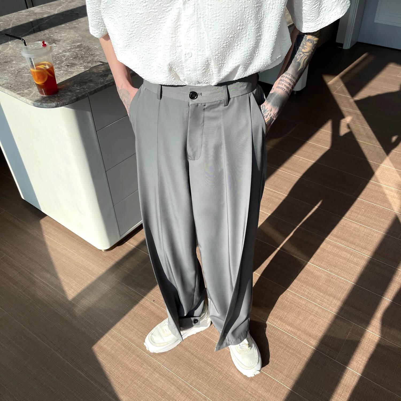 Брюки Cui Layout Studio Draped Crumple Trousers (14)