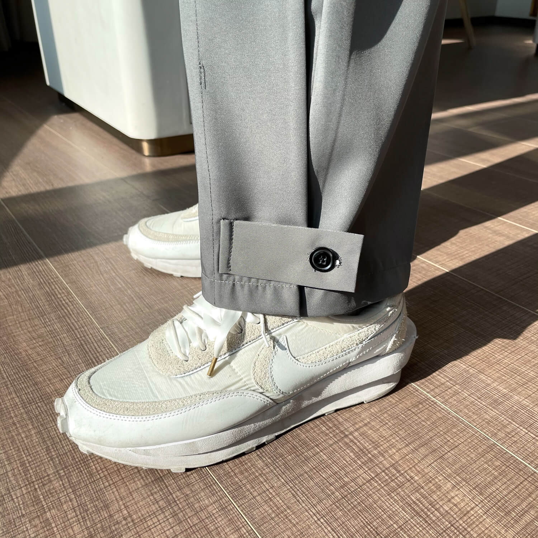 Брюки Cui Layout Studio Draped Crumple Trousers (15)