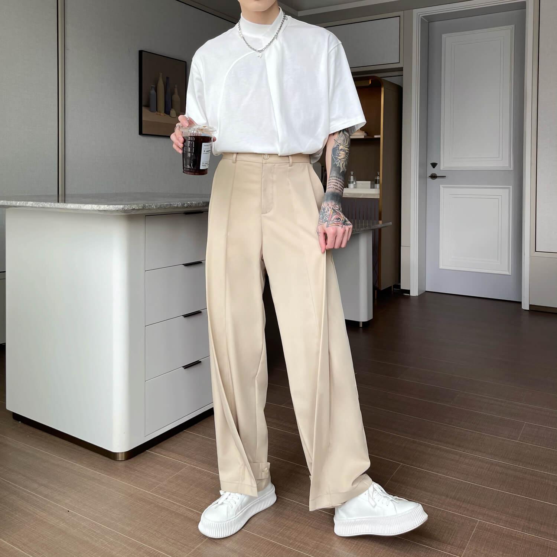 Брюки Cui Layout Studio Draped Crumple Trousers (17)