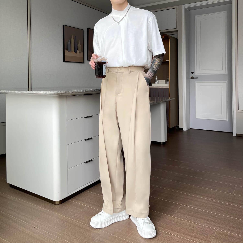 Брюки Cui Layout Studio Draped Crumple Trousers (18)