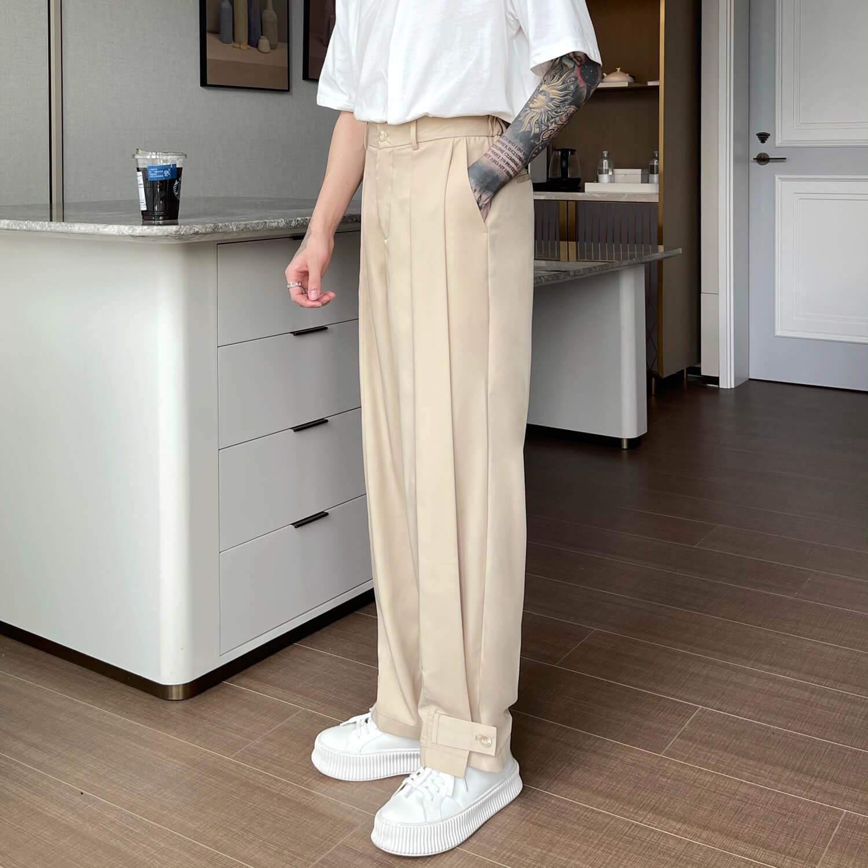 Брюки Cui Layout Studio Draped Crumple Trousers (19)