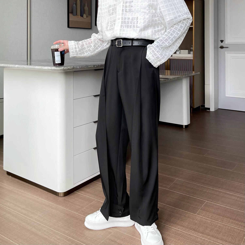 Брюки Cui Layout Studio Draped Crumple Trousers (2)