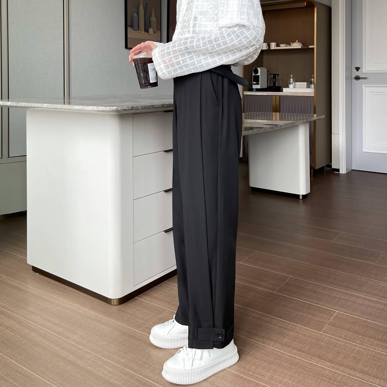 Брюки Cui Layout Studio Draped Crumple Trousers (5)