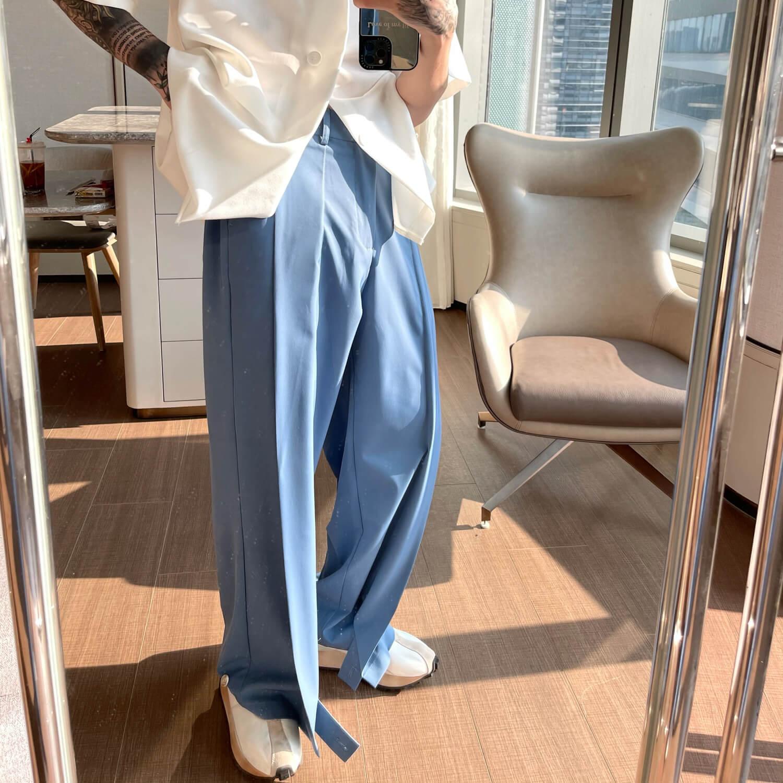 Брюки Cui Layout Studio Draped Crumple Trousers (6)
