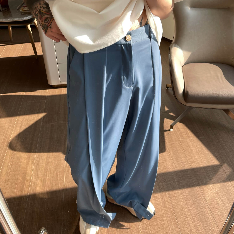Брюки Cui Layout Studio Draped Crumple Trousers (9)