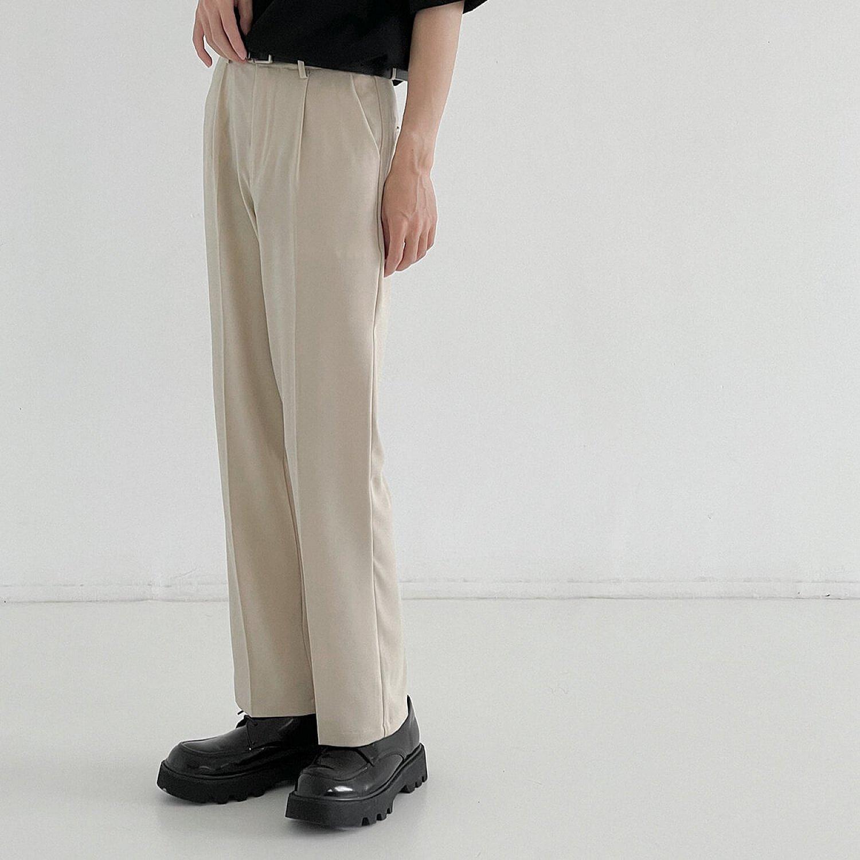 Брюки DAZO Studio Draped Slim Pants Cream (1)