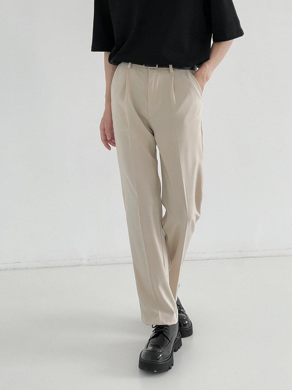 Брюки DAZO Studio Draped Slim Pants Cream (2)
