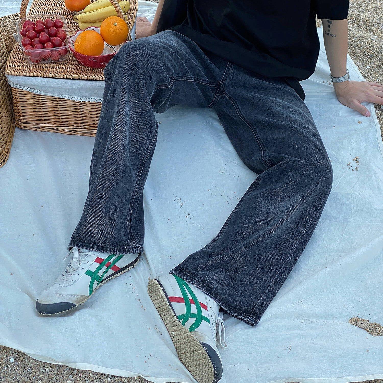 Джинсы 19 Studio Light Aged Wide Leg Jeans (1)