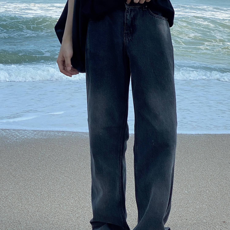 Джинсы 19 Studio Light Aged Wide Leg Jeans (2)