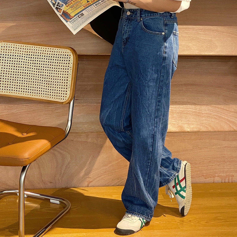 Джинсы 19 Studio Straight Jeans Crumpled Texture (1)