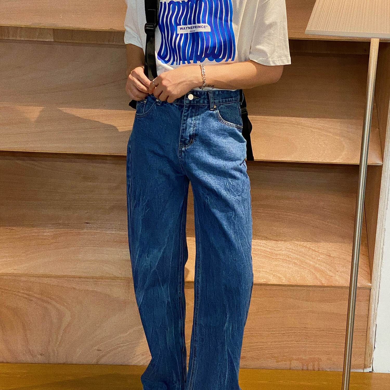Джинсы 19 Studio Straight Jeans Crumpled Texture (2)