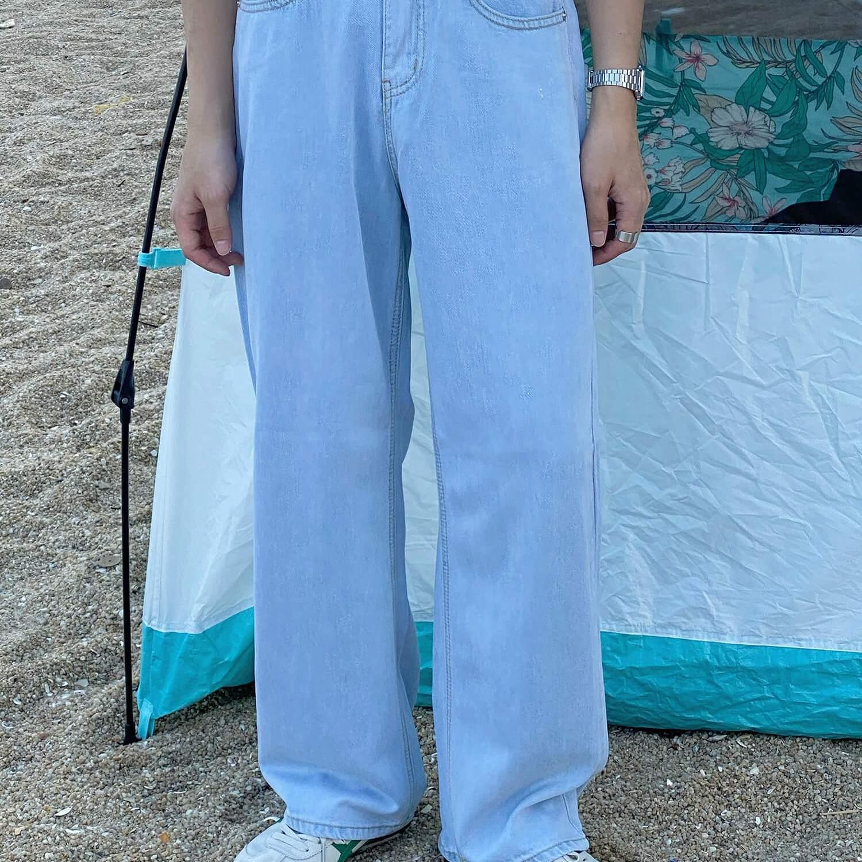 Джинсы 19 Studio Wide Leg Long Jeans (2)