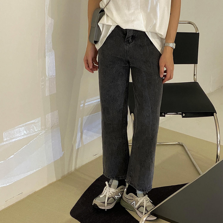 Джинсы 19 Studio Crop Skinny Washed Jeans (1)