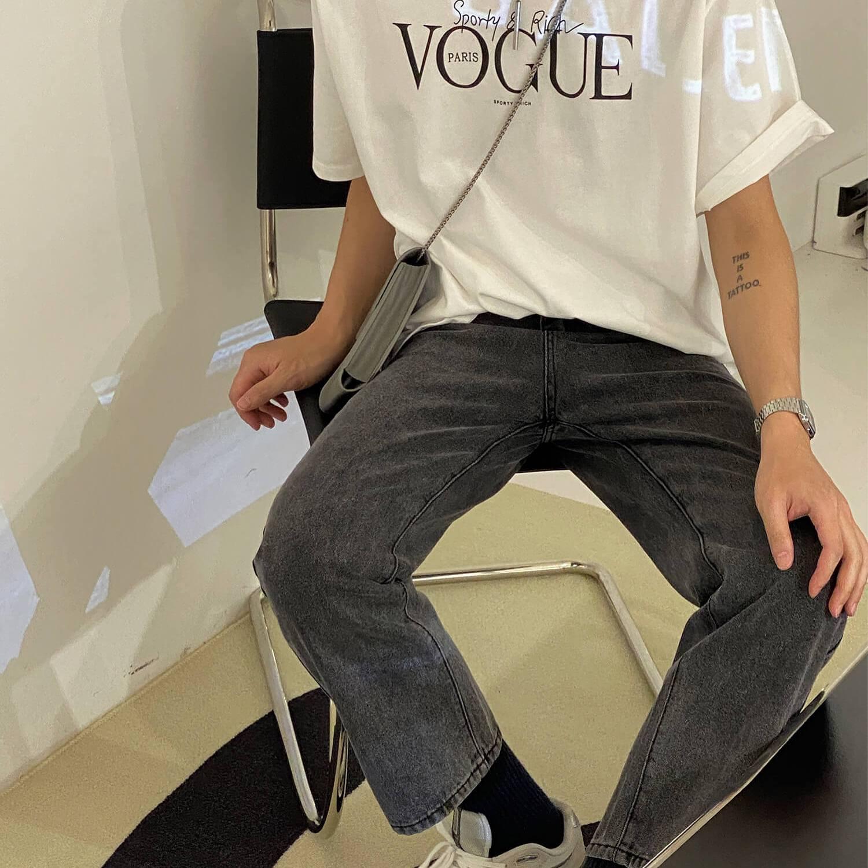 Джинсы 19 Studio Crop Skinny Washed Jeans (2)