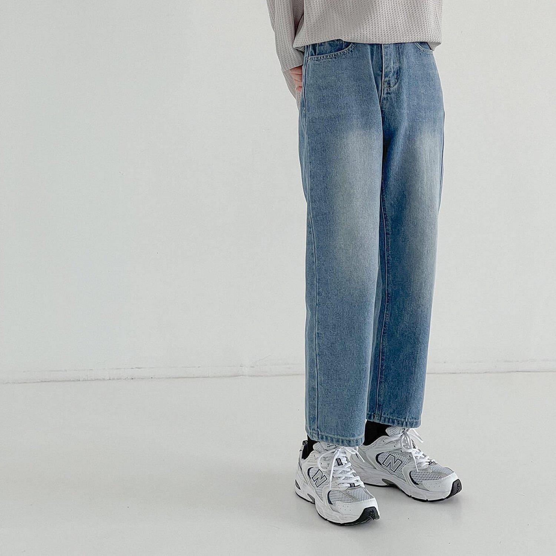 Джинсы DAZO Studio Wash Blue Cropped Jeans (1)