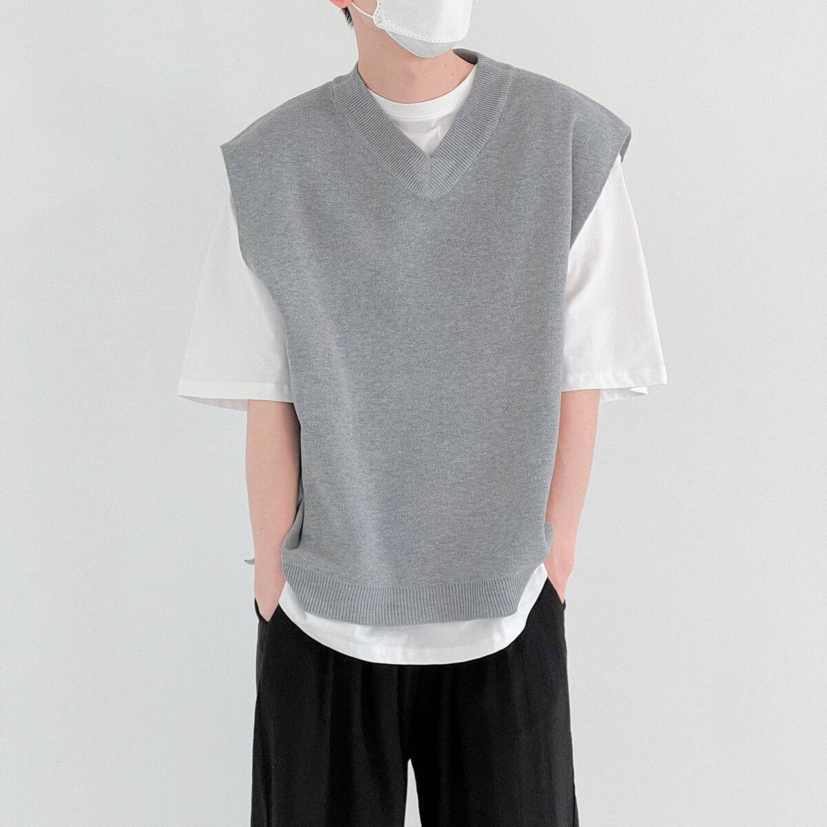 Жилет DAZO Studio Fabric Vest V-Neck (1)