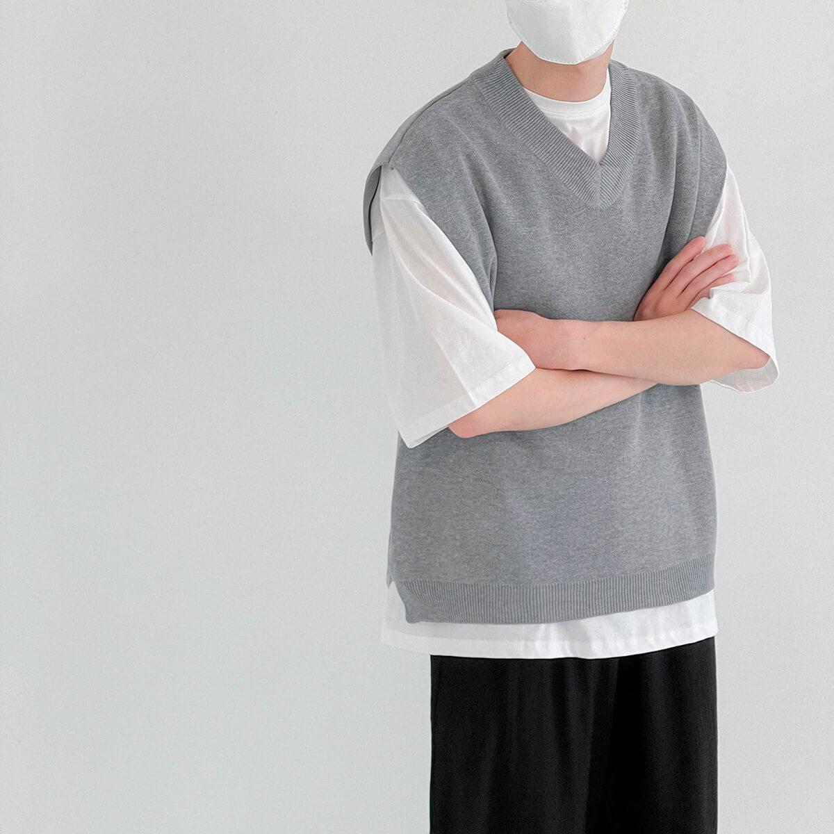 Жилет DAZO Studio Fabric Vest V-Neck (2)