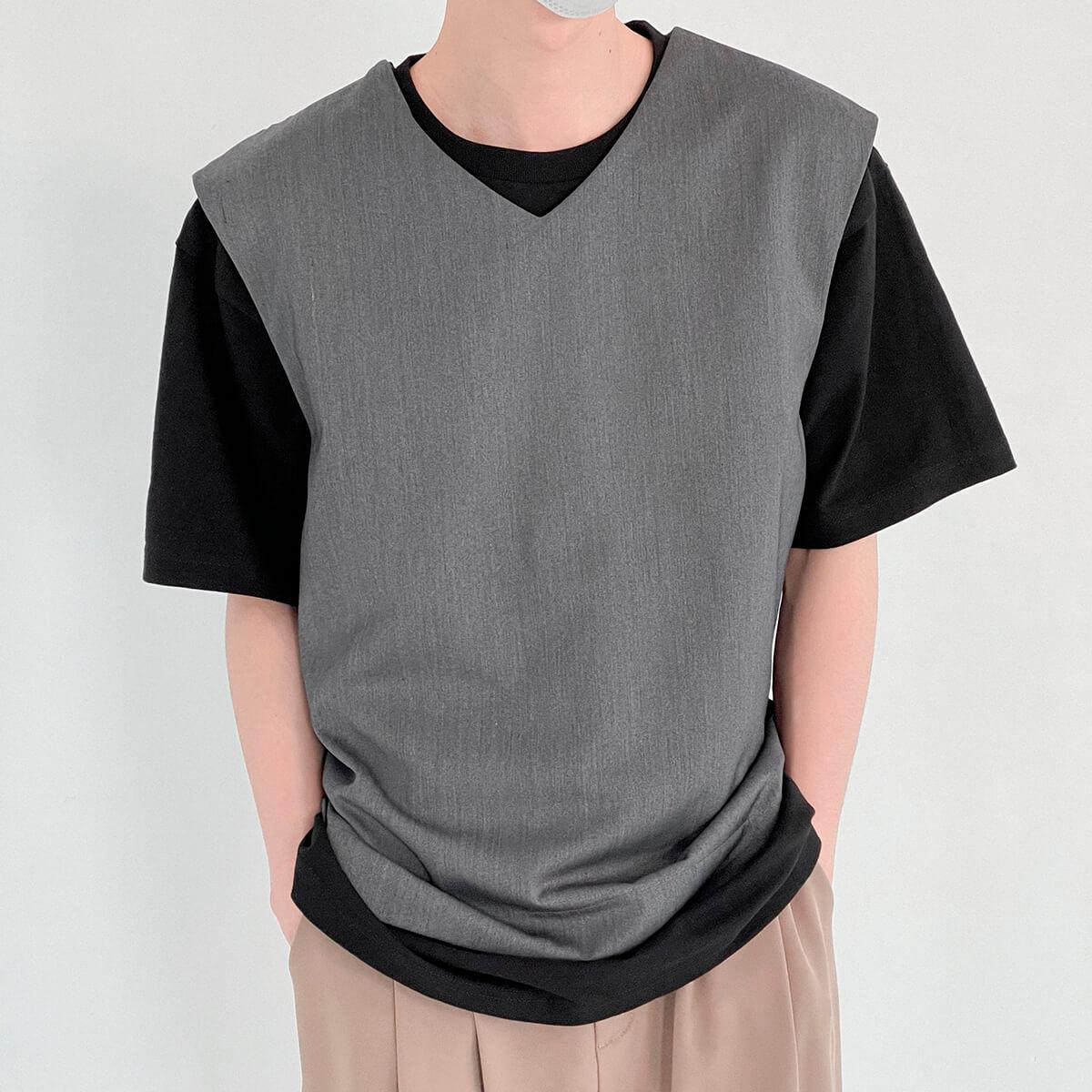 Жилет DAZO Studio Formal Vest V-Neck Split Bottom (1)