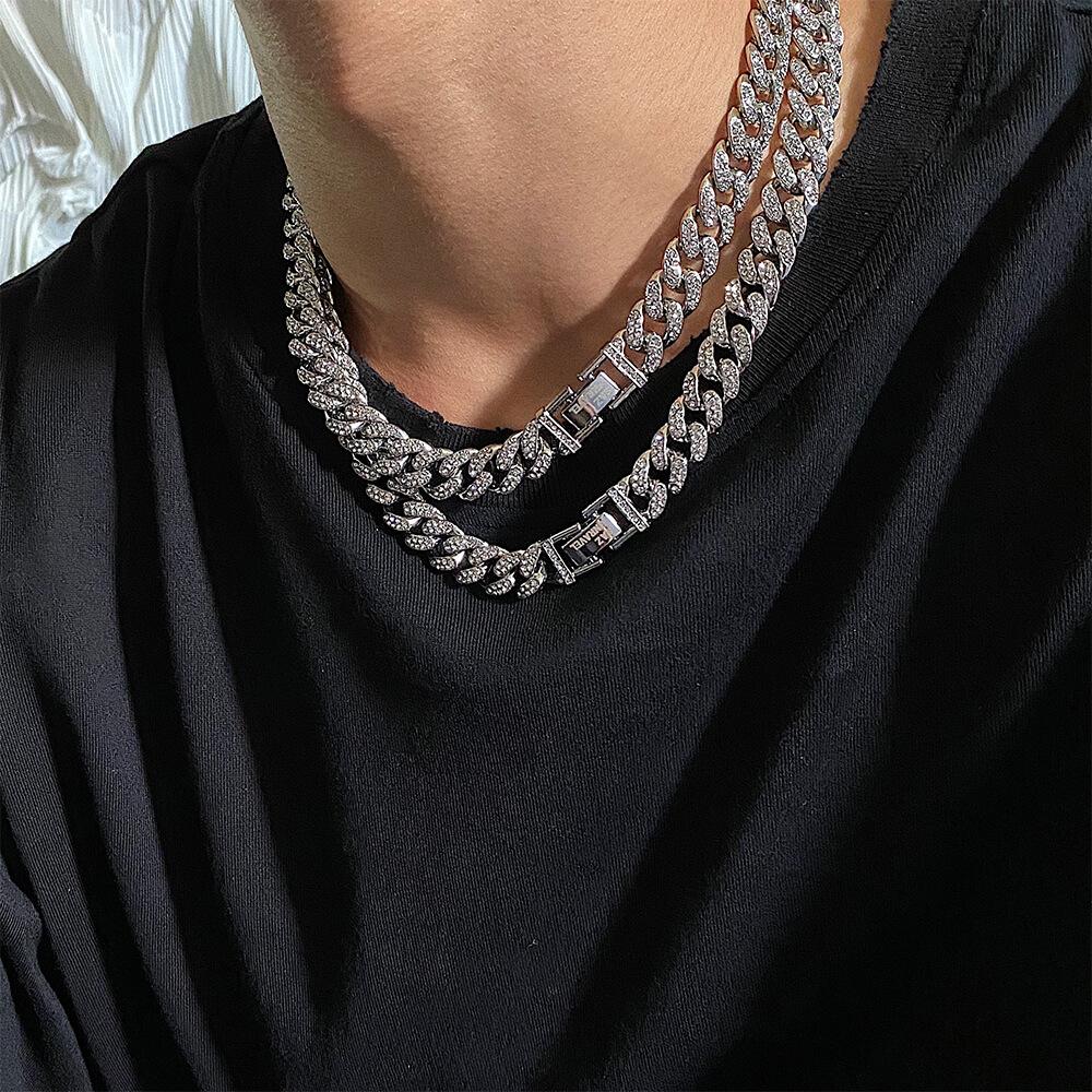 Колье SAZ Studio Cuban Inlaid Silver Necklace (1)