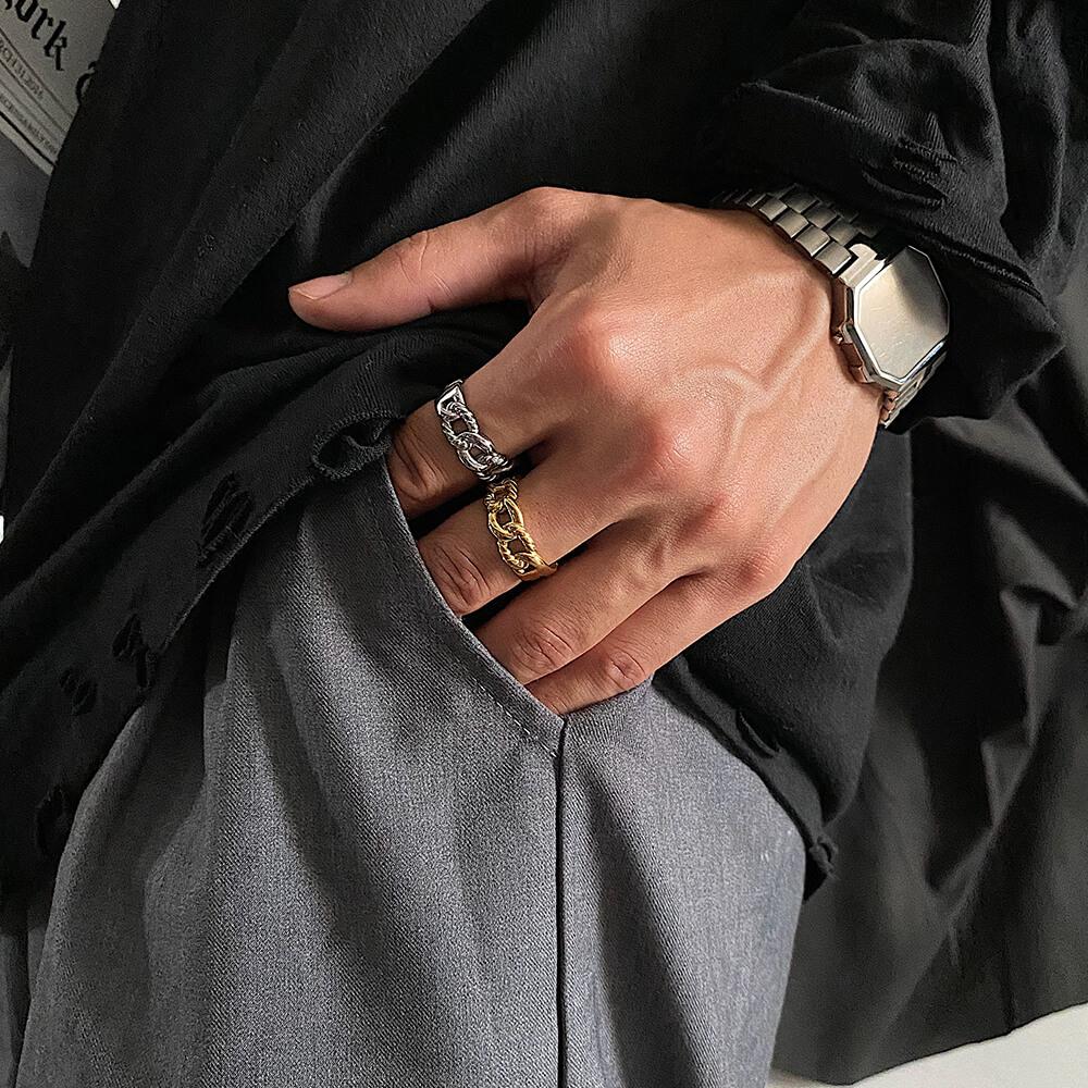 Кольцо SAZ Studio Combined Knit Ring (1)