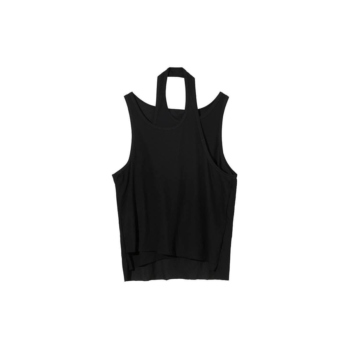 Майка Cui Layout Studio Designer Double Layer Tank Top Black