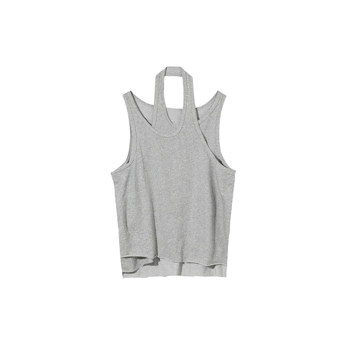 Майка Cui Layout Studio Designer Double Layer Tank Top Gray