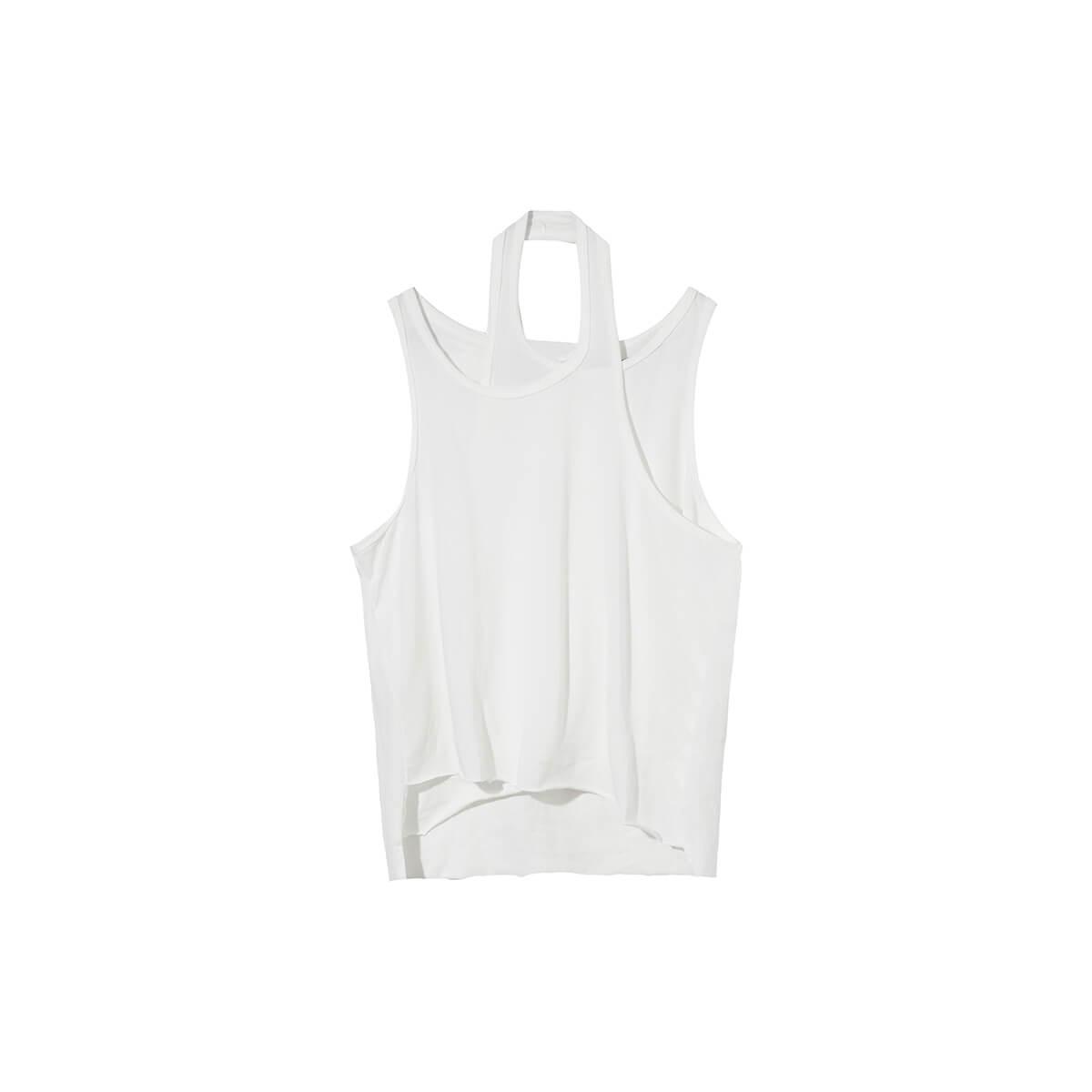 Майка Cui Layout Studio Designer Double Layer Tank Top White