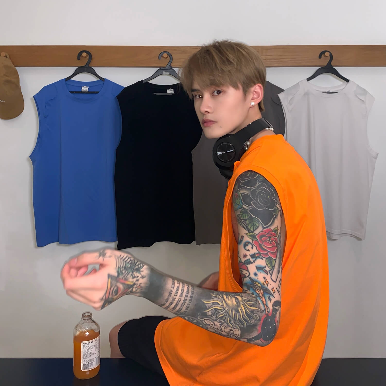 Майка Cui Layout Studio Tank Top Ripped Shoulders (18)