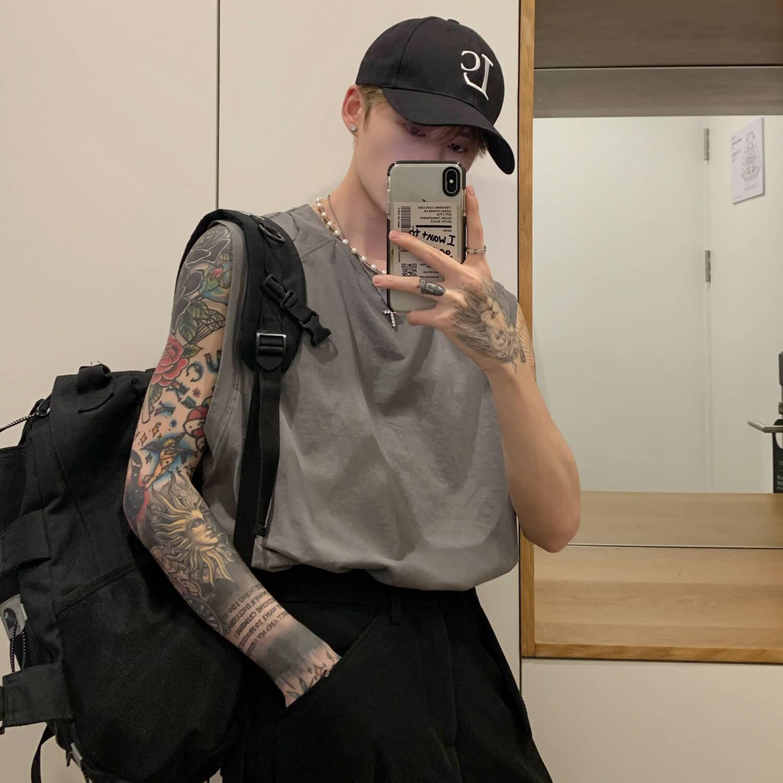 Майка Cui Layout Studio Tank Top Ripped Shoulders (4)