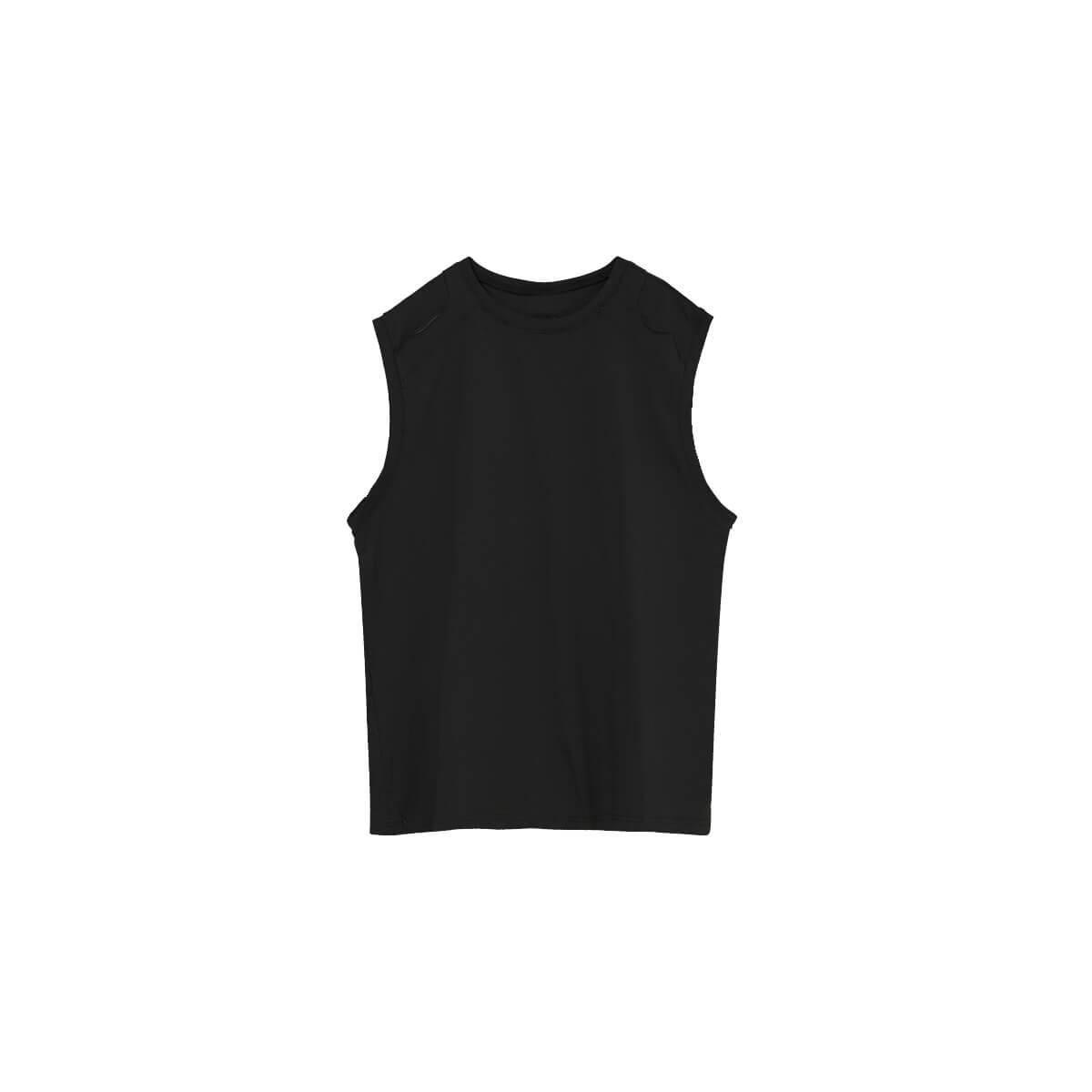 Майка Cui Layout Studio Tank Top Ripped Shoulders Black