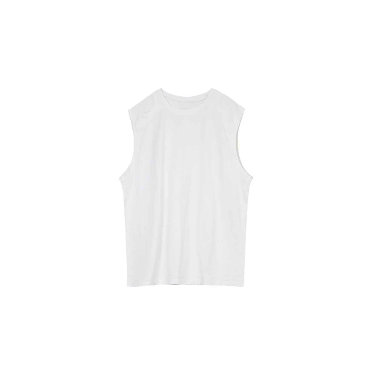Майка Cui Layout Studio Tank Top Ripped Shoulders White