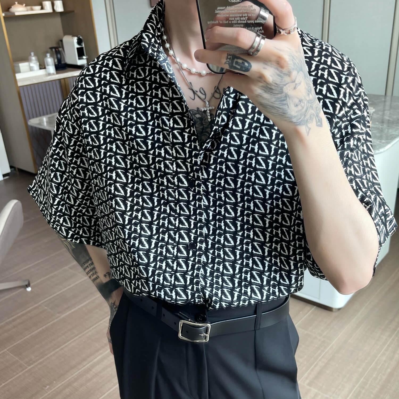 Рубашка Cui Layout Studio Letter Accent Shirt (1)