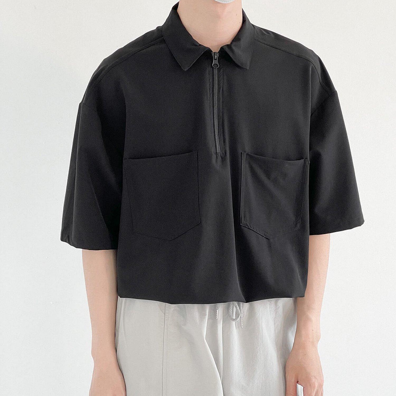 Рубашка DAZO Studio Zipper Shirt Two Front Pockets (1)