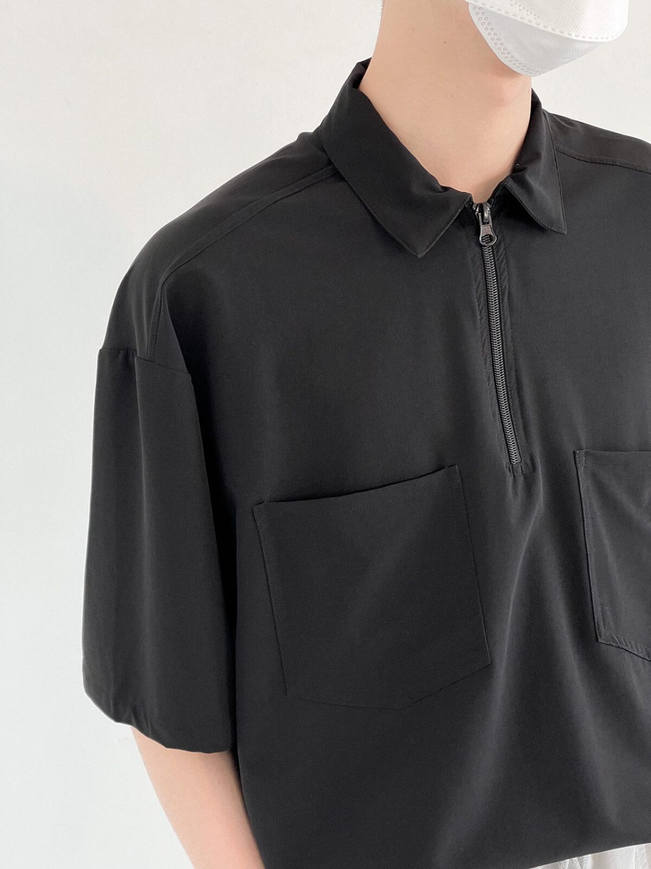 Рубашка DAZO Studio Zipper Shirt Two Front Pockets (2)