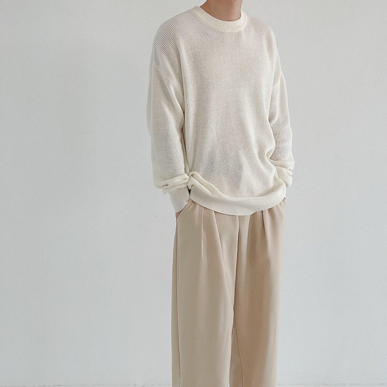 Свитер DAZO Studio Basic Fine Knit Stretch Sweater (1)