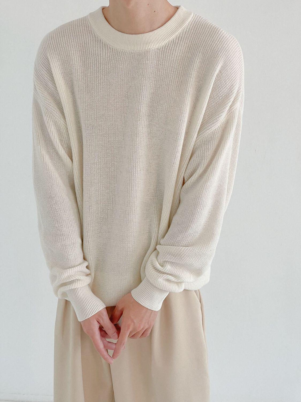 Свитер DAZO Studio Basic Fine Knit Stretch Sweater (2)