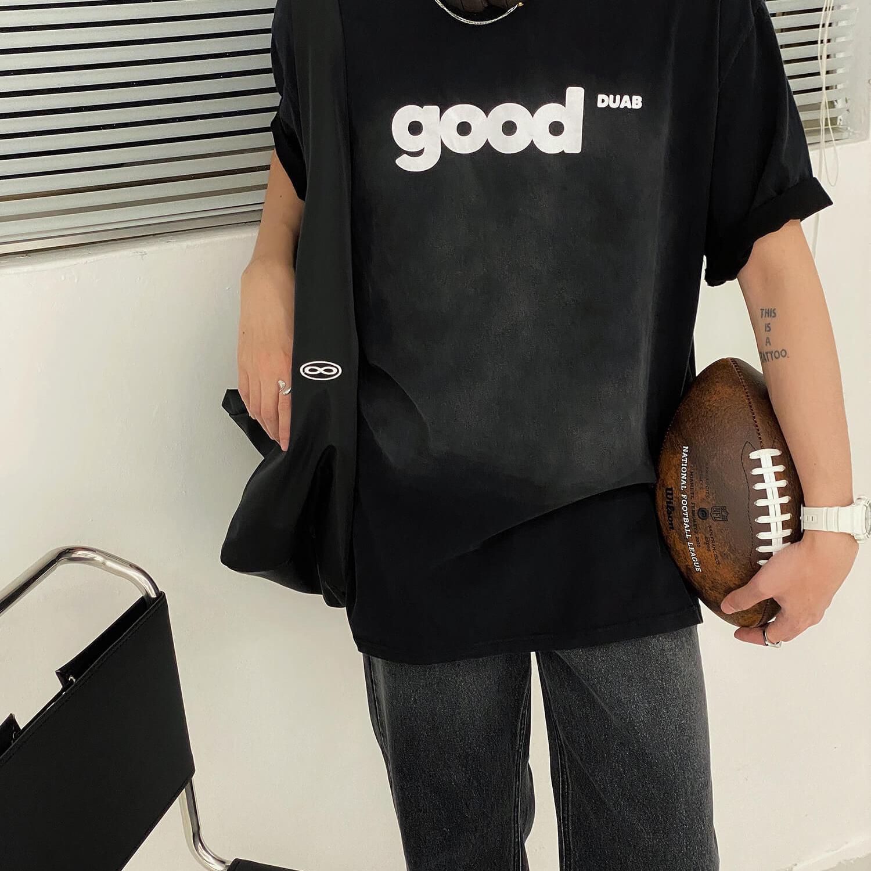 Футболка 19 Studio T-shirt Good Washed Print (2)