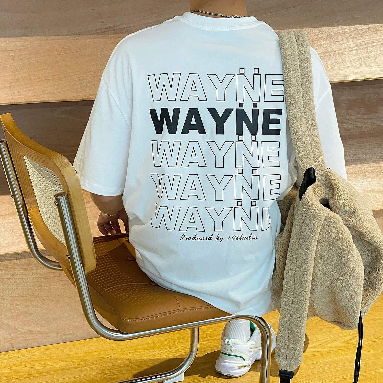 Футболка 19 Studio Wayne Logo T-shirt Print (1)